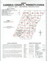 Index Map, Cambria County 1985